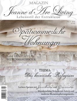 Magazin JDL SPÄTSOMMERLICHE WOHNUNGEN 09/2018