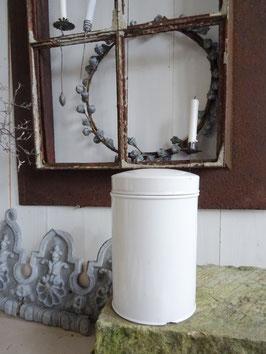 Antiker Apotheker-Topf weißes Porzellan