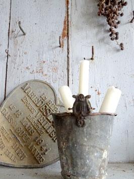 antiker Kerzenhalter LYRA