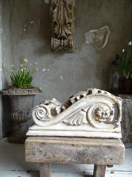 1xVERKAUFT Jah 26.04. antikes GROSSES Stuckelement Fassadenelement