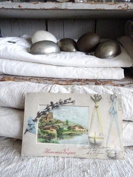 antike franz Postkarte PAQUES