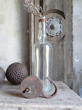 antikes Eisenschloß Vorhängeschloß VII