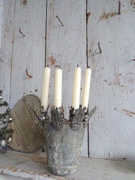 antiker Kerzenhalter BURG II