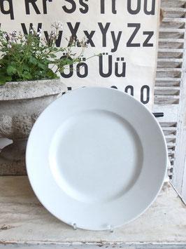 29cm uralter weisser Keramikteller