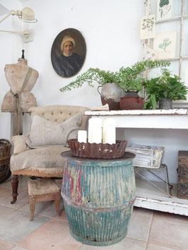 antiker englischer Waschzuber