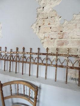 VERKAUFT Ben 24.05. 224cm antikes Zaunelement