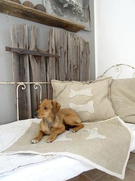 VERKAUFT Fri 09.03. Hundematte Liegematte TWO BONES Hundeteppich