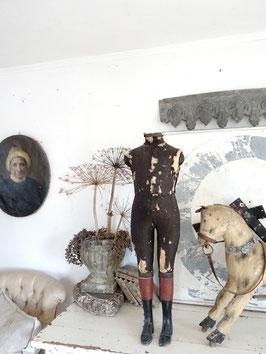 VERKAUFT Arn 10.10.   95cm antiker franz NAPOLEON Kinderschneiderpuppe Schaufensterpuppe