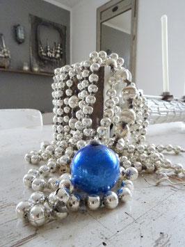 antike Baumkugel königsblau II