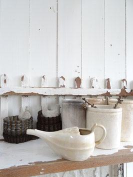 uralte Sauciere Keramik aus Frankreich SARREGUEMINES II