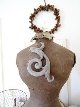 antikes Zink Dachelement aus Frankreich