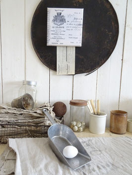 sehr alte Mehl/Zucker Schaufel