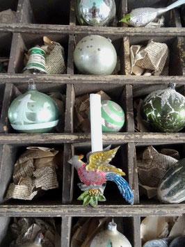 FASAN sehr GROSSER antiker Kerzenclip