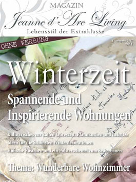 WINTER 01-2012 Magazin JEANNE D'ARC LIVING
