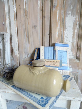 antike Wärmflasche aus England