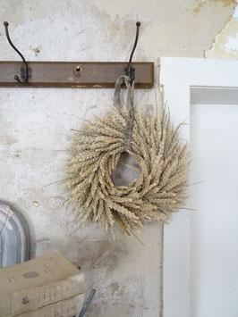 VERKAUFT Kat 26.09. Wandkranz aus Weizen