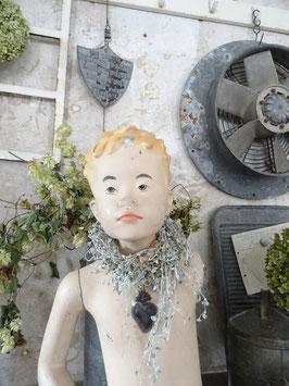 uralte Kinderfigur Schaufensterpuppe