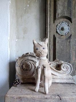 1xVERKAUFT Cla 09.04. PRIMITIVE-ART Katze PUNKY-CAT