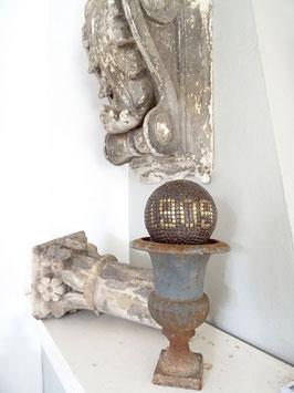 antike BOULE Kugel aus Frankreich - genagelt 1909    AK