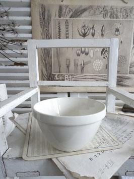 uralte Bol Schüssel weiße Keramik