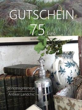 GUTSCHEIN 75,-- Euro