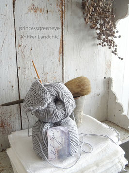 wool/cotton blend - SILVER GREY GRAU von JEANNE D'ARC LIVING