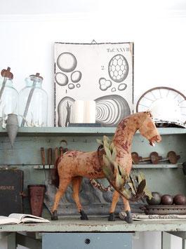 """Antiker """"Gaul"""" - antikes Reitpferd / Spielzeugpferd (2)"""