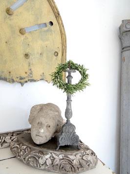 VERKAUFT Wic 06.06.   antiker Kirchenleuchter aus Zinn
