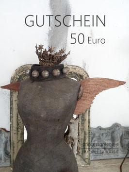 GUTSCHEIN 50,-- EURO