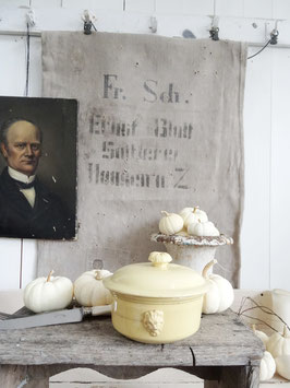 antike Pastetenschale Dose aus Frankreich