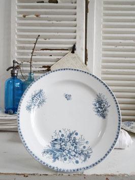 32cm VorlagenTeller Keramik CILLA MAESTRICHT  Blaudekor