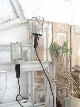 alte Werkstattlampe Handlampe