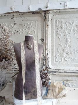14m/2cm antike belgische Klöppelspitze