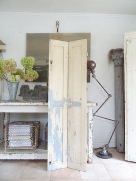 162cm uralter Fensterladen - geniale Patina