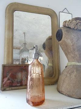 VERKAUFT Nem 02.04.   antike Sodaflasche aus Frankreich - Kegel Lachs