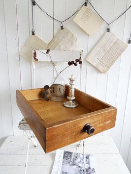 antike große Schublade - heute Tablett ?