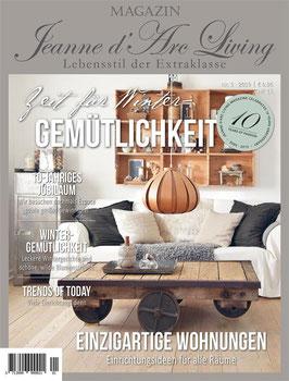 JDL Magazin 01/2019 GEMÜTICHKEIT