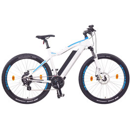 """EPAC, NCM Moscow 48 V 27,5"""" E-MTB, Mountainbike, E-Bike 13 Ah 624 Wh Akku, weiß"""
