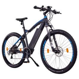 "EPAC, NCM Moscow Plus 48 V 29"", E-MTB , Mountainbike E-Bike 16 Ah 768 Wh Panasonic Zellen Akku, schwarz"