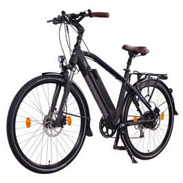 "EPAC, NCM Venice + 28"" Trekking E-Bike, 48 V 14 Ah 672 Wh Panasonic Zellen Akku, schwarz"