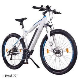 EPAC, NCM Moscow + E-MTB, Mountainbike E-Bike 48 V, 14 Ah, 672 Wh Panasonic Zellen Akku