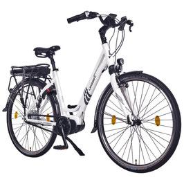 "EPAC, Modell: Leisger® L3 28"" City E-Bike, Pedelec, 36 V 17 Ah 612 Wh Panasonic Zellen Akku,weiß"