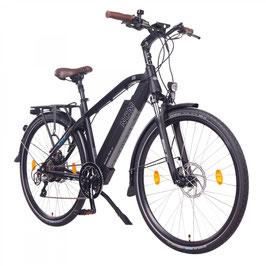 "EPAC, NCM Venice Plus 48 V 28"" Trekking E-Bike, 16 Ah, 768 Wh Panasonic Zellen Akku, schwarz"
