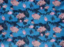 Schweinchen im Matsch