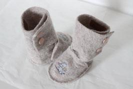 """Babyschuh """"Pusteblume"""" (bis 10 cm Fußlänge)"""