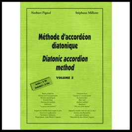 Méthode d'accordéon diatonique volume 3
