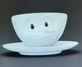 Tasse mit Unterteller