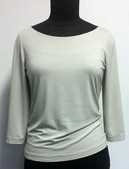 S 19 Viskose-Shirt/ U-Bootausschnitt