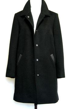M 12 Mantel mit Leder