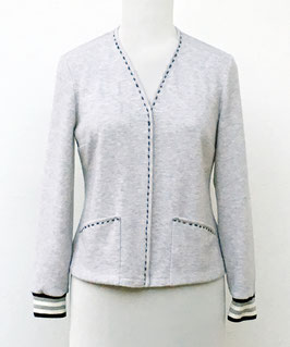P 89 Pullover mit Ärmelbündchen